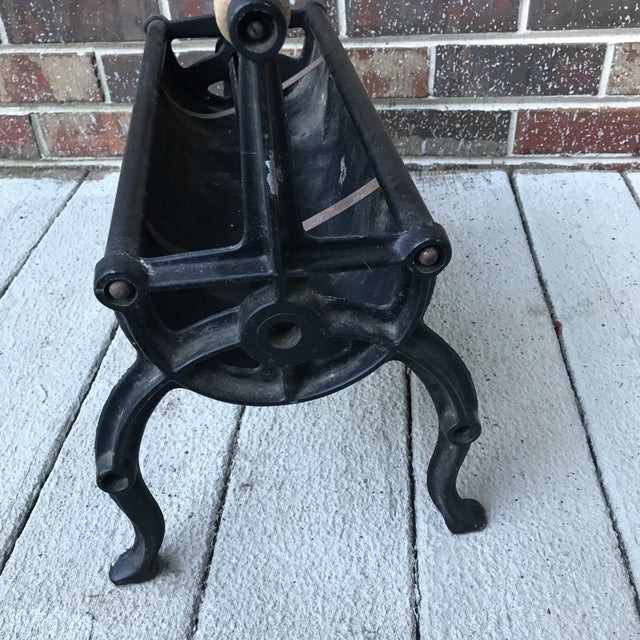 Mid-Century Fireplace Fire Starter For Sale - Image 4 of 8