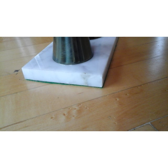 Vintage 60s Mid-Century Modern Tall Candle Holder - Image 7 of 8