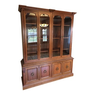 Mid-Century Dining Room Hutch in Rosewood For Sale