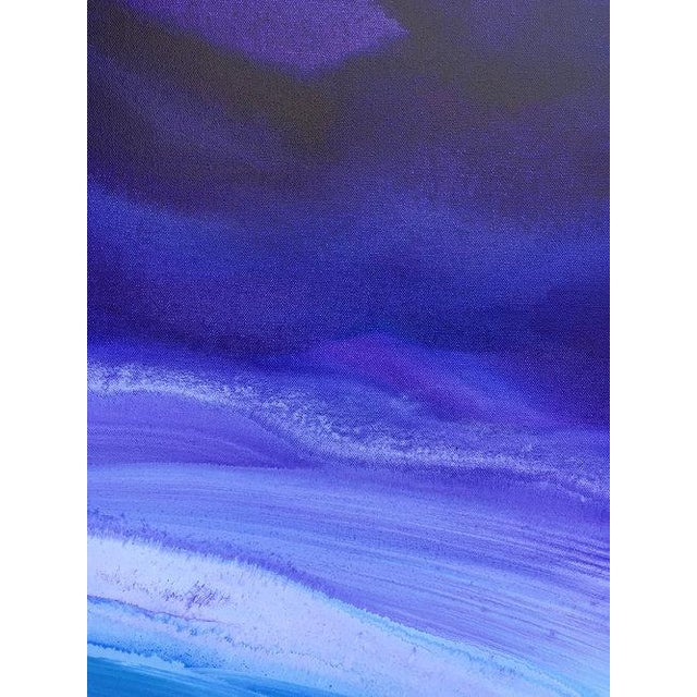 Teodora Guererra, 'Lavender Sky' Painting, 2017 For Sale In New York - Image 6 of 7
