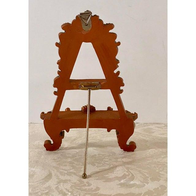 Vintage Hollywood Regency Decorative Table Easel For Sale - Image 4 of 6