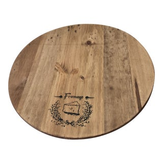 French Wooden Lazy Susan For Sale