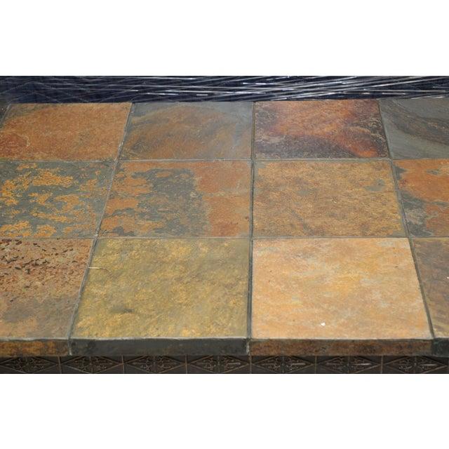 Natural Slate Tile Coffee Table - Image 4 of 4