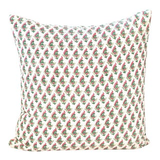 Block Print Pillow | Baya For Sale