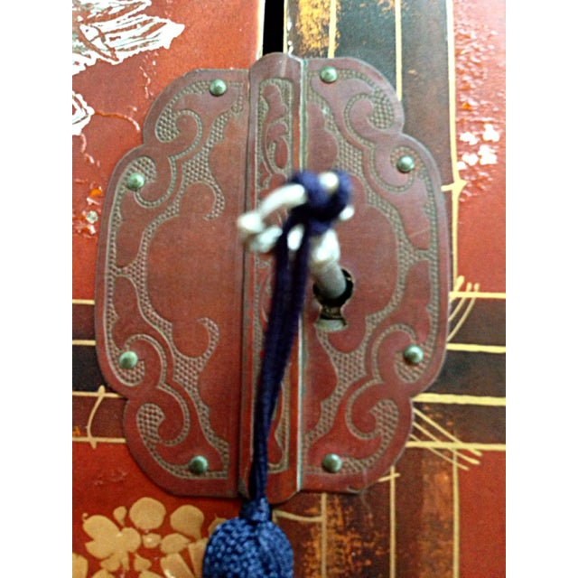 Antique Japanese Jewelry Cabinet - Image 7 of 8