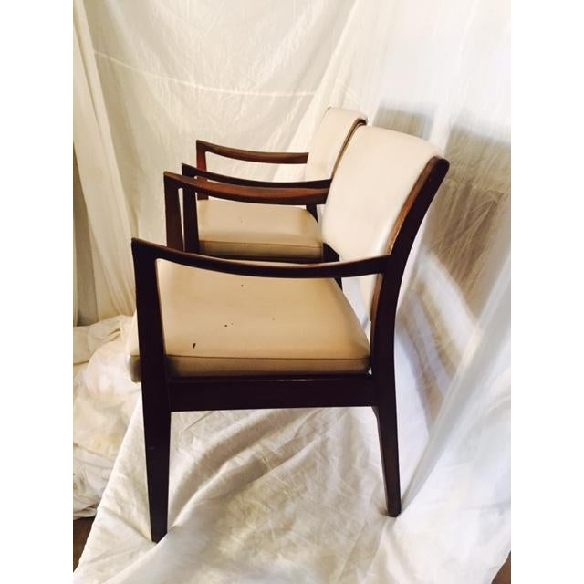 Vintage Mid-Century Johnson Chairs - A Pair - Image 4 of 6