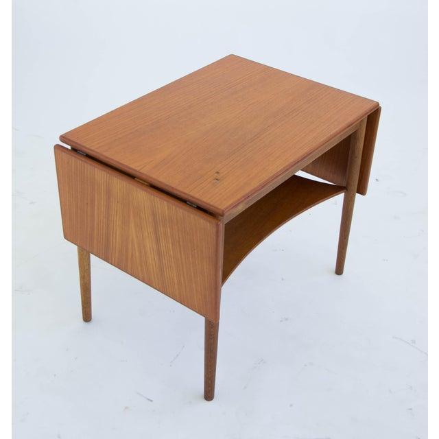 Borge Mogensen Drop Leaf Side Table - Image 5 of 6