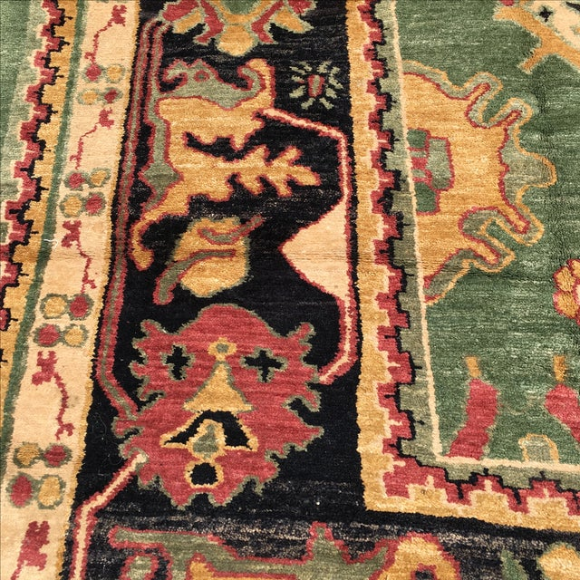 Large Handknotted Nepalese Rug - 9′ × 11′9″ - Image 4 of 11