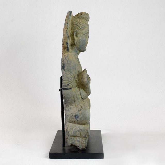 Please update measurements. This beautiful sculpture was made in the ancient kingdom of majajanapada, better known as...