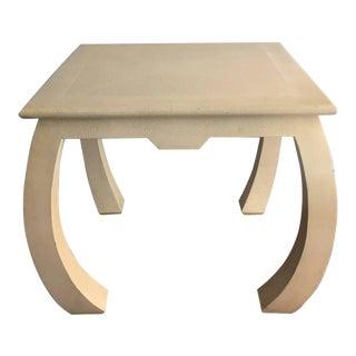 Shagreen Leather Table by Enrique Garcel For Sale