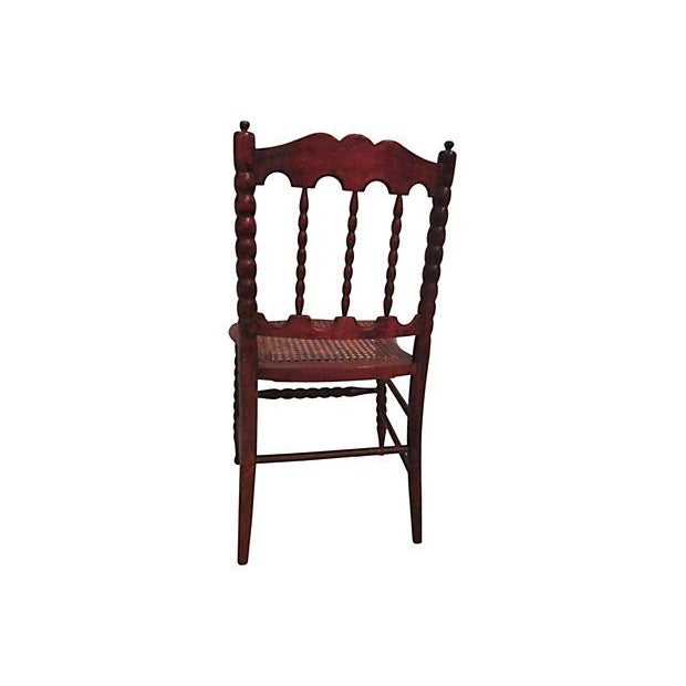 Early 1800s Hand Carved Child's Chair For Sale In New York - Image 6 of 7