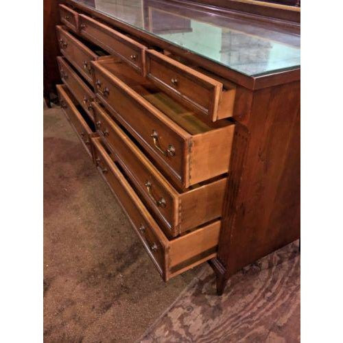 Phenix Furniture Co. Mid-Century Modern Dresser with Mirror For Sale - Image 6 of 8