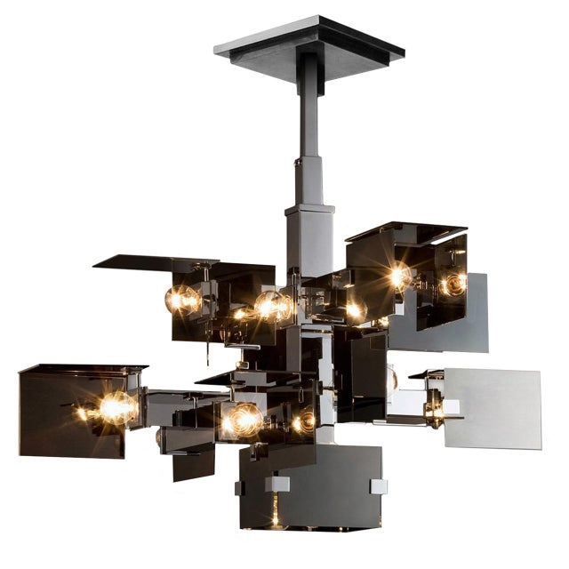 """Not Yet Made - Made To Order """"David Collins"""" Ceiling Chandelier by David Collins For Sale - Image 5 of 5"""