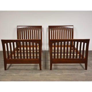 Ethan Allen American Impressions Cherry Twin Beds- a Pair Preview