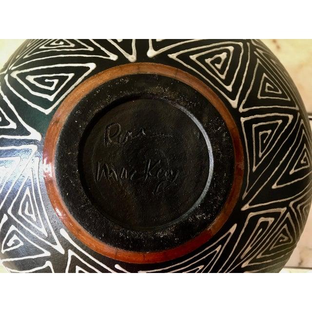 Mid-Century Studio Pottery Vase - Image 6 of 6