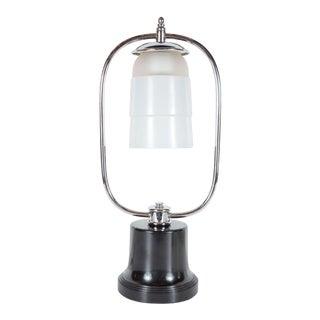 Art Deco Machine Age Table Lamp For Sale