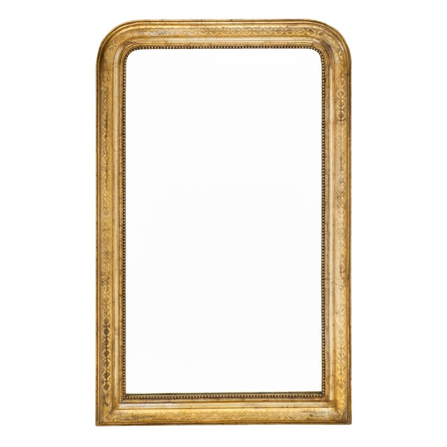 Antique French Louis Philippe Period Mirror For Sale