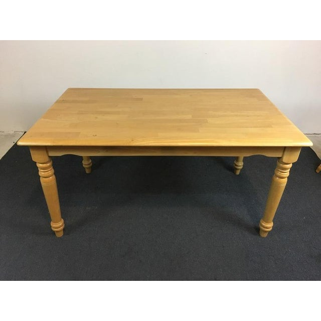Country Carved Oak Dining Set - Image 5 of 11