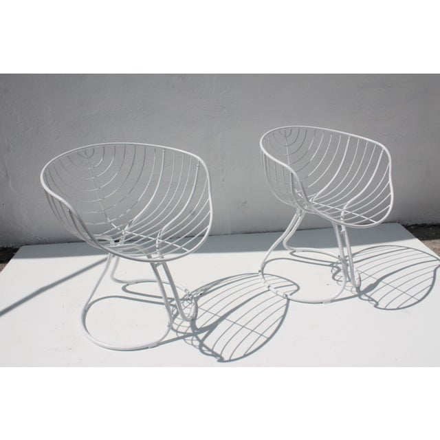 "Italian ""Pan Am"" Logo Chairs - A Pair - Image 10 of 11"