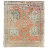Image of Antique Turkish Oushak Rug For Sale