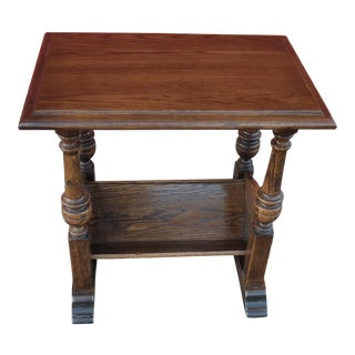 Ethan Allen Magazine Side Table For Sale