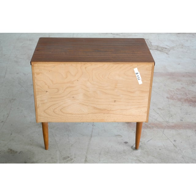 Mid-Century Danish Teak 3-Drawer Dresser - Image 5 of 5