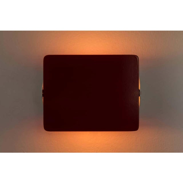 Metal Charlotte Perriand Red Cp1 Wall Lights - a Pair For Sale - Image 7 of 8