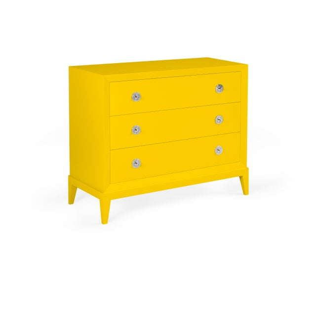 Transitional Casa Cosima Hayes Chest, Yolk For Sale - Image 3 of 3