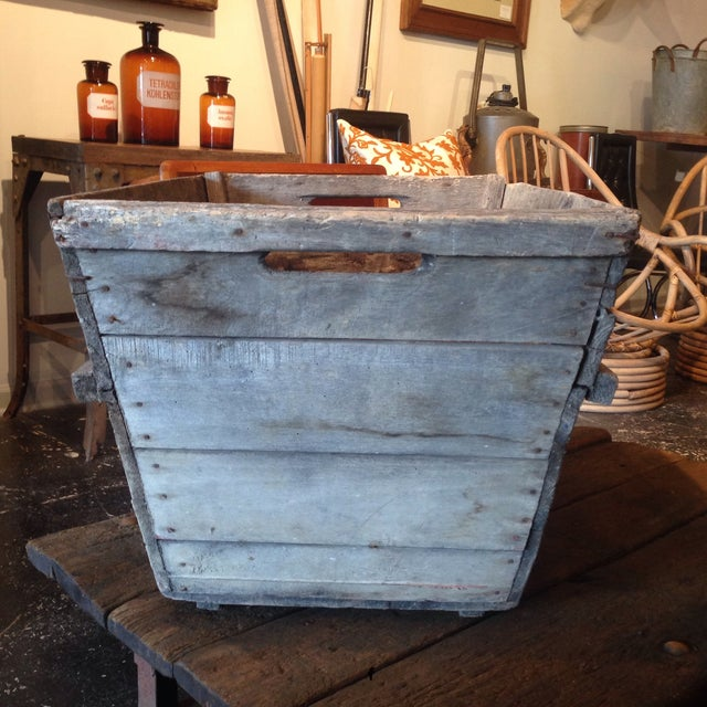 Vintage French Champagne Crate For Sale - Image 4 of 6