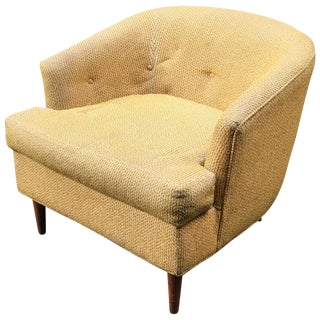 Diminutive 1960s Selig Lounge Chair For Sale