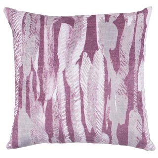 Boho Chic Classic Home Whitney Square Pillow For Sale