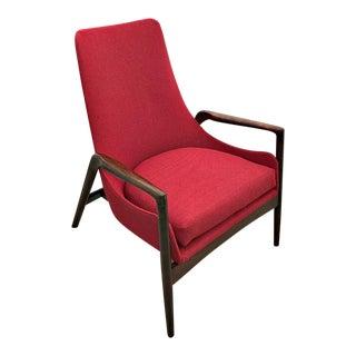 MCM Rare Ib Kofod-Larsen Lounge Chair by Selig