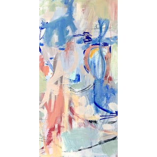 """Abstract """"streamers"""" - Expressionist Original Painting by Brenna Giessen For Sale"""