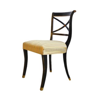 1940s Vintage Hollywood Regency Side Chair For Sale