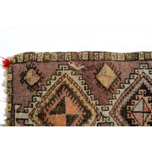 "Antique Turkish Oushak Mat - 1'5""x2'11"" - Image 4 of 6"