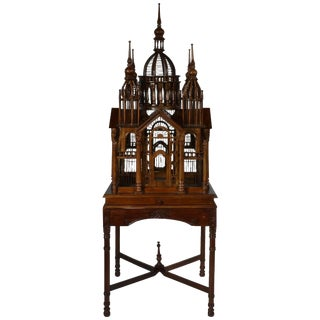 """Cathedral"" Bird Cage For Sale"