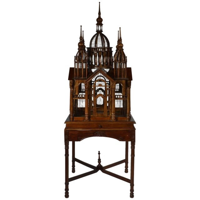 """""""Cathedral"""" Bird Cage For Sale"""
