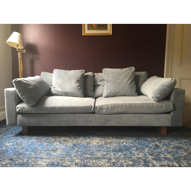 West Elm Contemporary Harmony Sofa Chairish