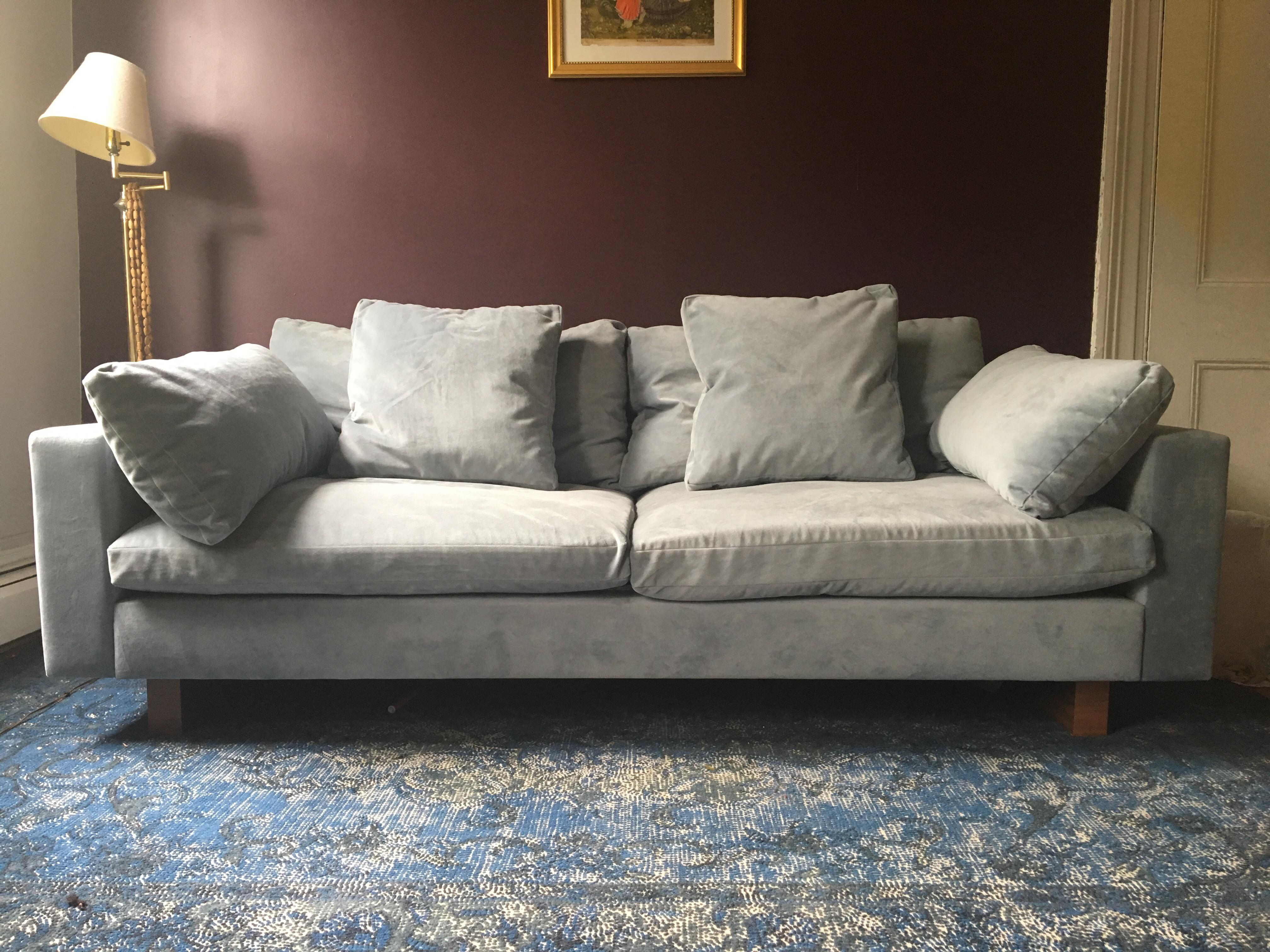 Purchased This Sofa In Feb. Had It Delivered In May And Now Moving Overseas  And. Contemporary West Elm Contemporary ...