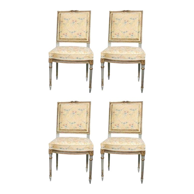 Maison Jansen Dining Chairs - Set of 4 For Sale