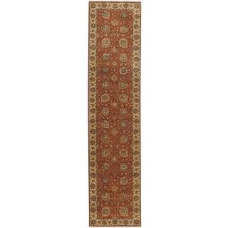 """Indian Handmade Runner Rug - 2'8""""x 11' For Sale"""