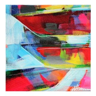 """Julie Hansen """"Breaking Waves"""" Original Painting"""
