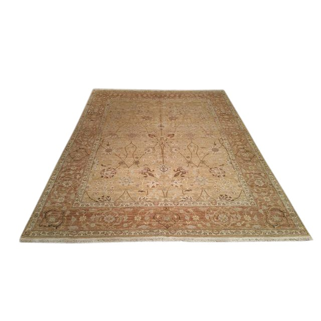 Traditional Handmade Knotted Rug - 8x10 - Image 1 of 4