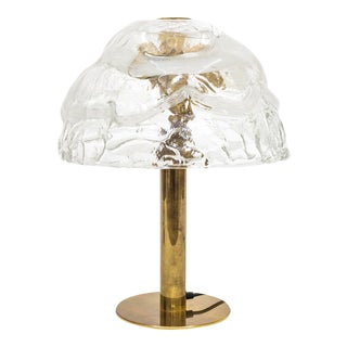 Antique designer table lamps decaso large kalmar murano glass and brass table lamps 1970s three avaiable aloadofball Gallery