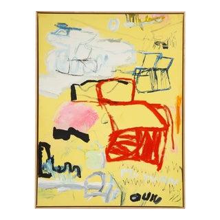 """Thai Mainhard """"My Turn"""" Acrylic on Canvas For Sale"""