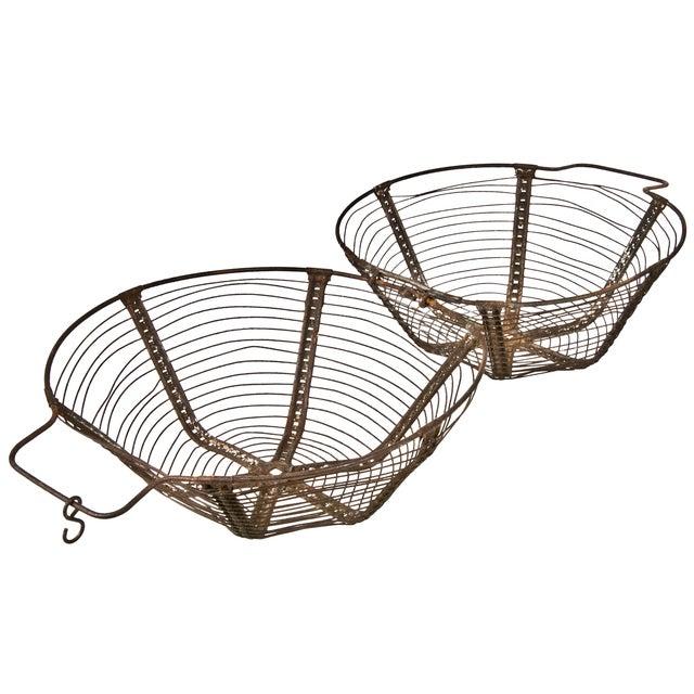 French Wirework Salad Basket - Image 3 of 3