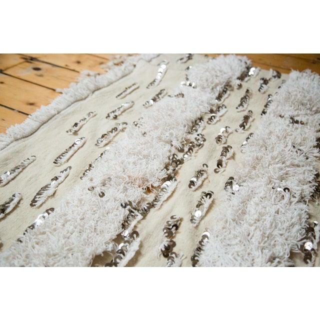 "Vintage Wedding Blanket Rug - 3'8"" x 6'7"" - Image 2 of 6"