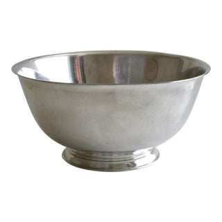 Classic Footed Silver Bowl For Sale