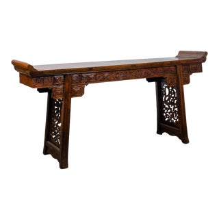 Chinese Alter Console Table For Sale