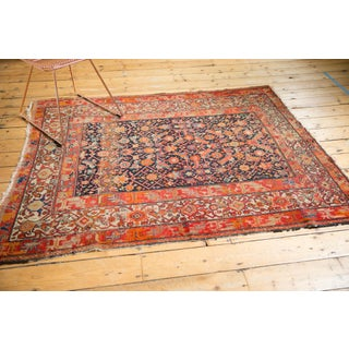 "Antique Malayer Square Rug - 4'10"" X 6'1"" Preview"